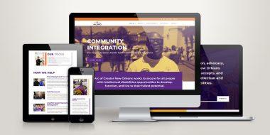 ArcGNO website design and development