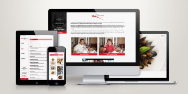 Cafe Minh website design and development