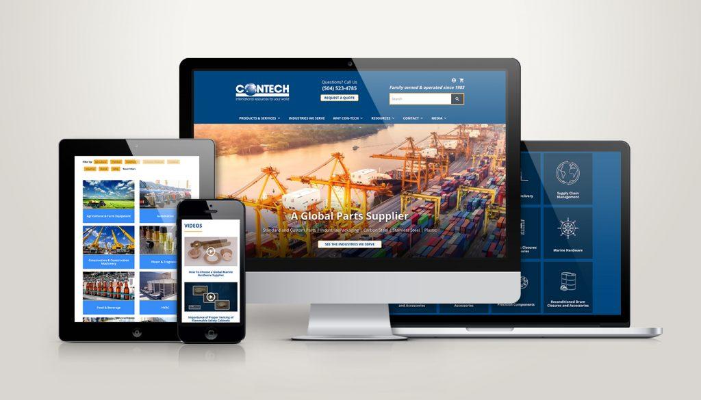 Contect Website Design + Development Showcase
