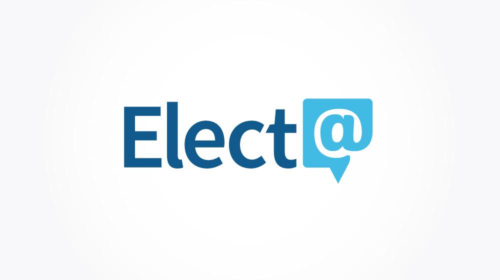 Elect@ Logo Design