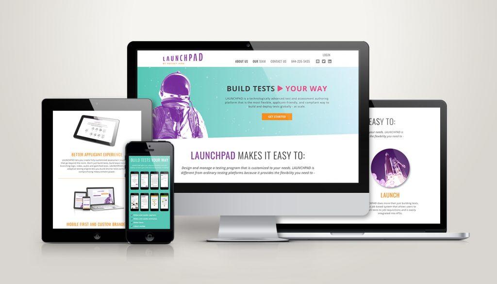 LaunchPad Website Design and Development