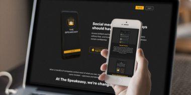 SpeakEasy website design and development